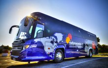 Autobus Scania Touring HD 2015